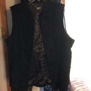 Dennis Basso 2X 100% Leather Vest